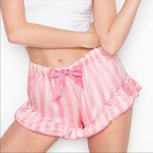 Victoria's Secret 🌹Satin Ruffle Sleep Shorts